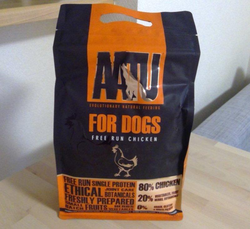 AATU(アートゥー)【チキン】:原材料の80%がお肉!シングルプロテインでアレルギーにも配慮!
